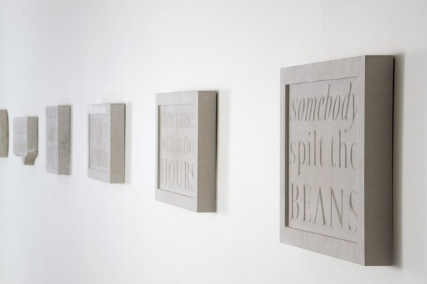 Wall of Words, Kevin Carter, Paul Hyland, Andrew Whittle