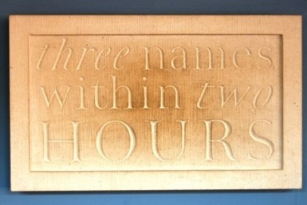 Wall of Words, Carter, Hyland, Whittle - Hours